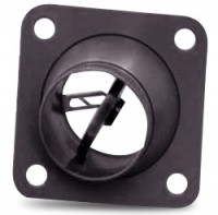 22167 SMALL SQUARE, FLANGED EYEBALL VENT