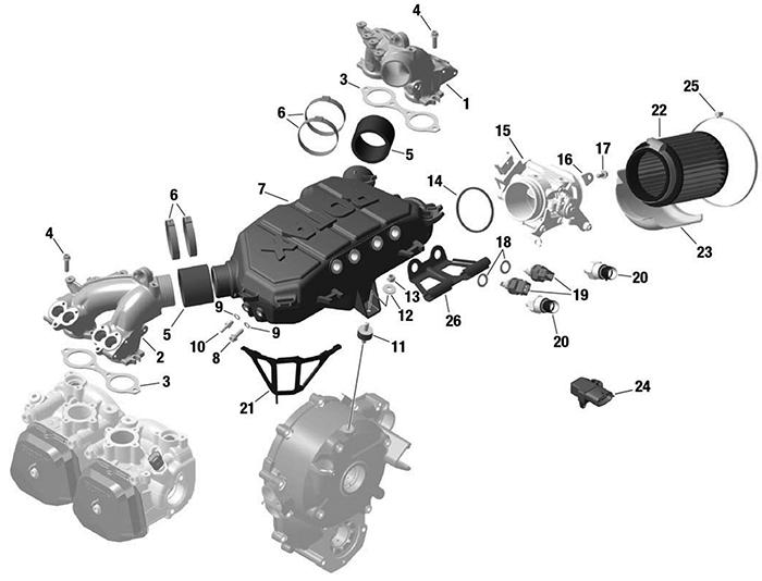 912iS_manifold Sub Wiring Kit on