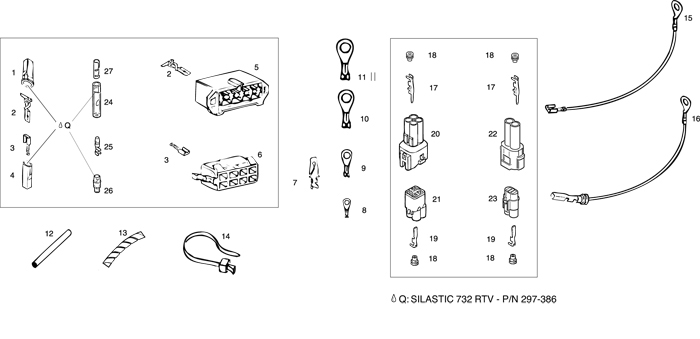ROTAX 447 503 582 618 UL ENGINE WIRING ACCESSORIES from – Rotax 582 Wiring Diagram